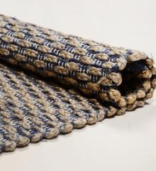 Teppich Tom Tailor Smooth Comfort Braid 701 blue